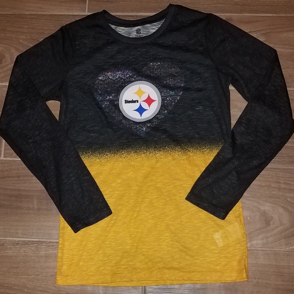 d96703d5 NFL Pittsburgh Steelers girl's long sleeve shirt